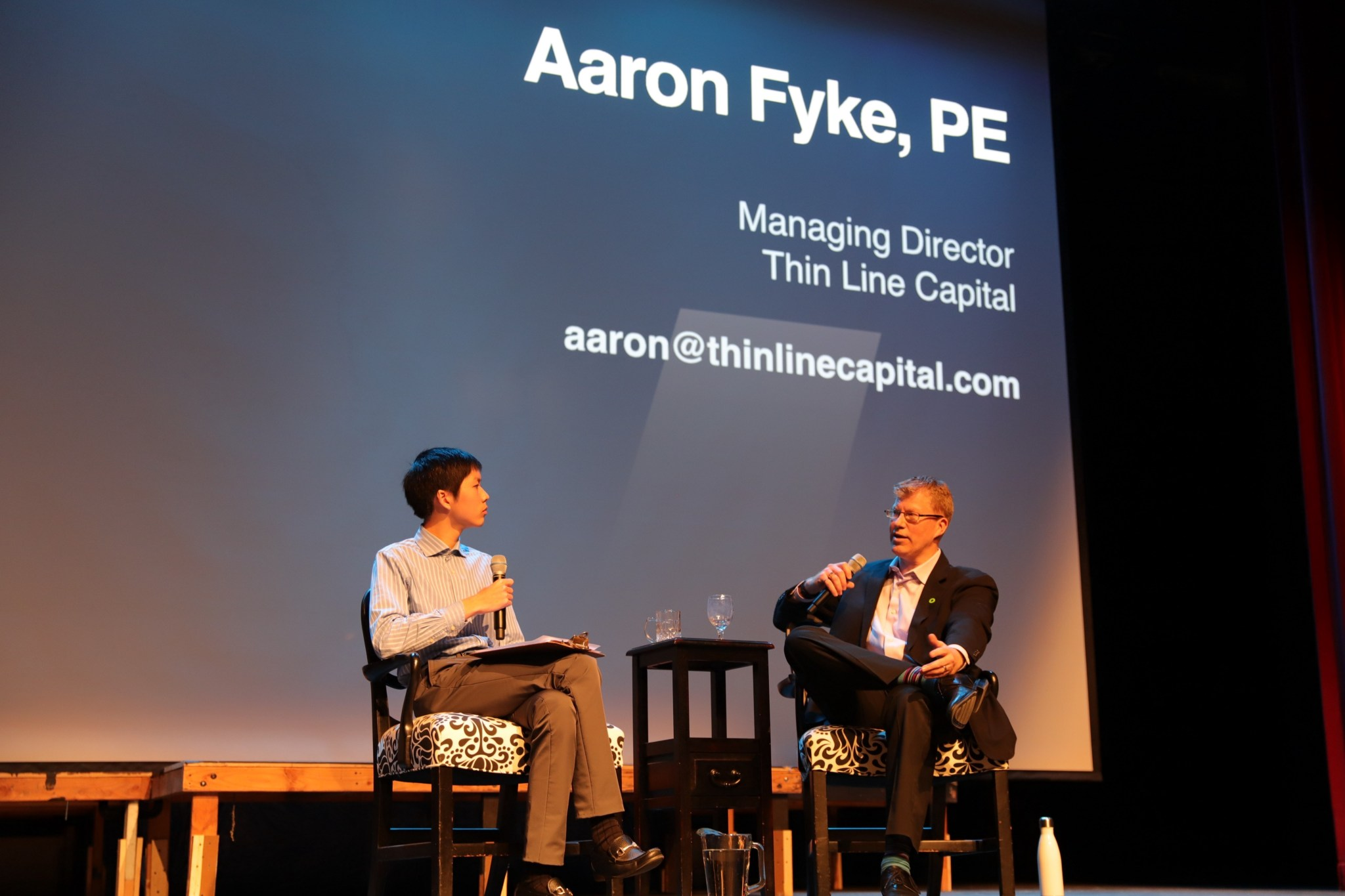 """""""I see that 10 years from now, the opportunities and urgency to reshaping our entire economic system towards a zero-carbon approach will be well underway."""" Aaron Fyke, LGO '02 and Founder/Managing Partner of Thin Line Capital."""
