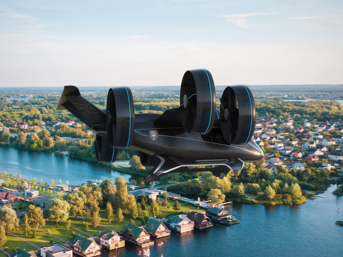LGO partner company Bell Helicopter looks to the future of urban transportation at this year