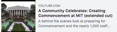 The LGO Class of 2018 will graduate on Friday! Watch how the MIT Commencement ceremony comes together.