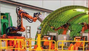 Robotics Internship Boeing Riviting