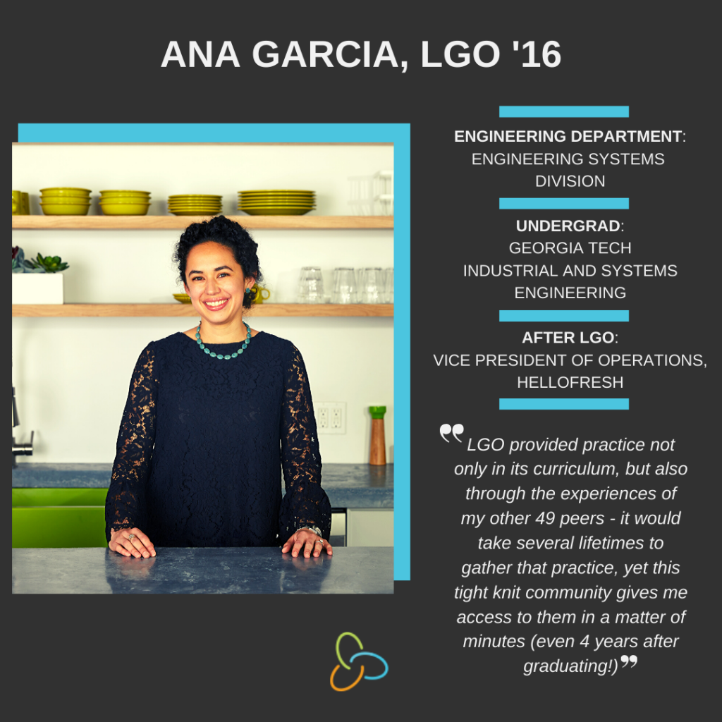 Women's History Month 2020: Ana Garcia, LGO '16