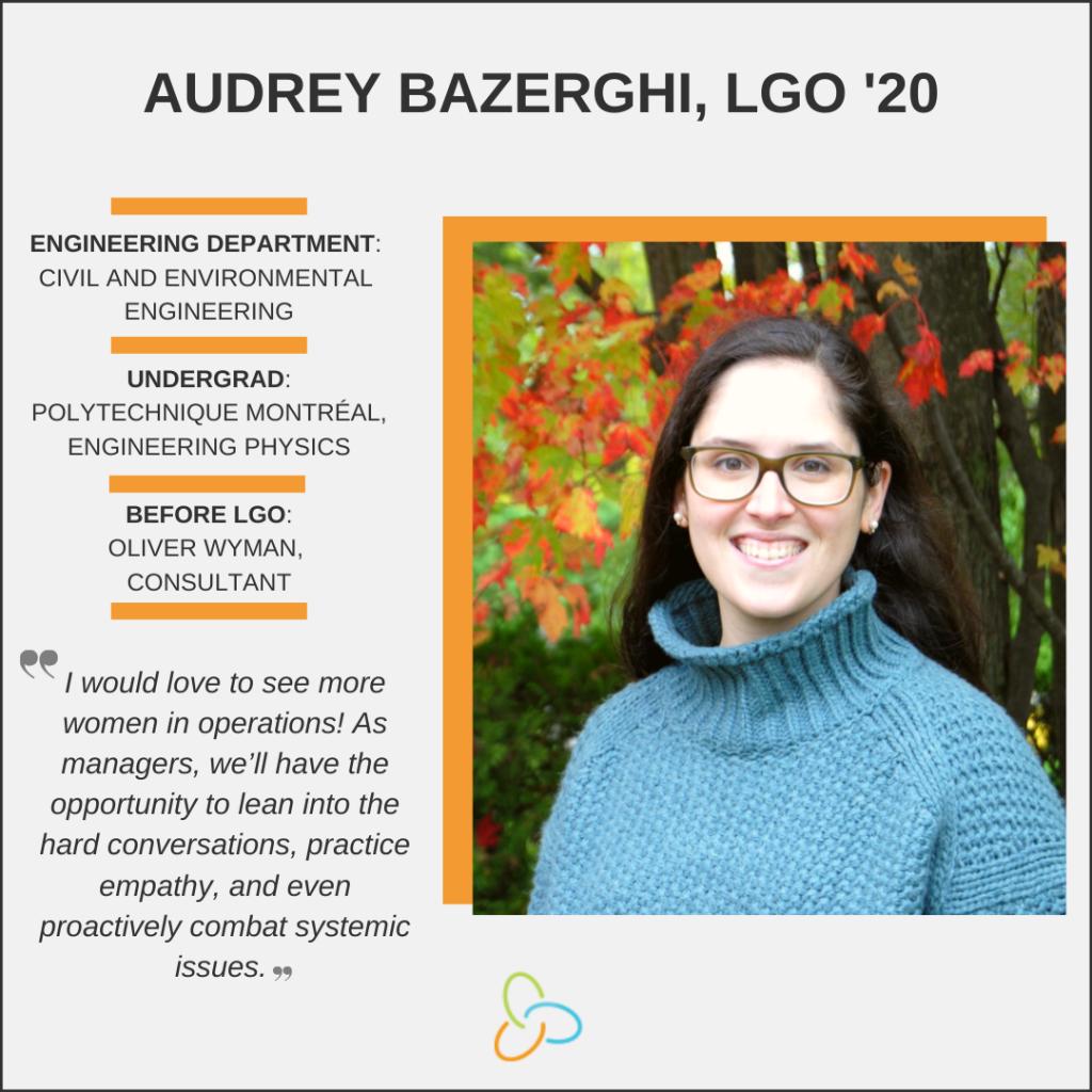 LGO Women's History Month 2020, Audrey Bazerghi '21