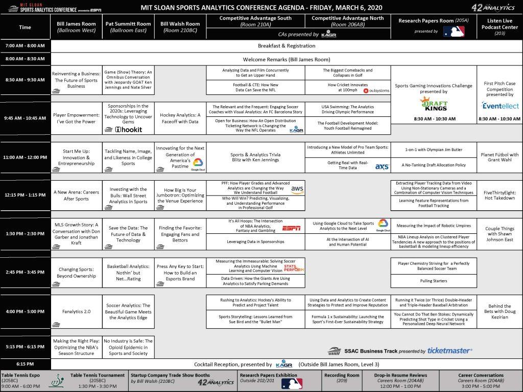 SSAC20 Agenda
