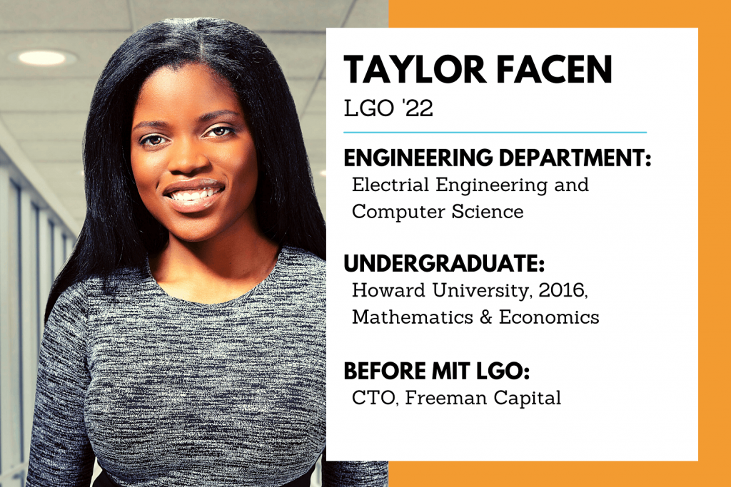 Blog sized graphic, taylor facen black history month 2021