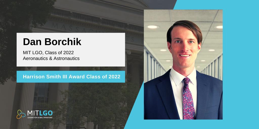 Harrison Smith Award 2021 - Dan Borchik