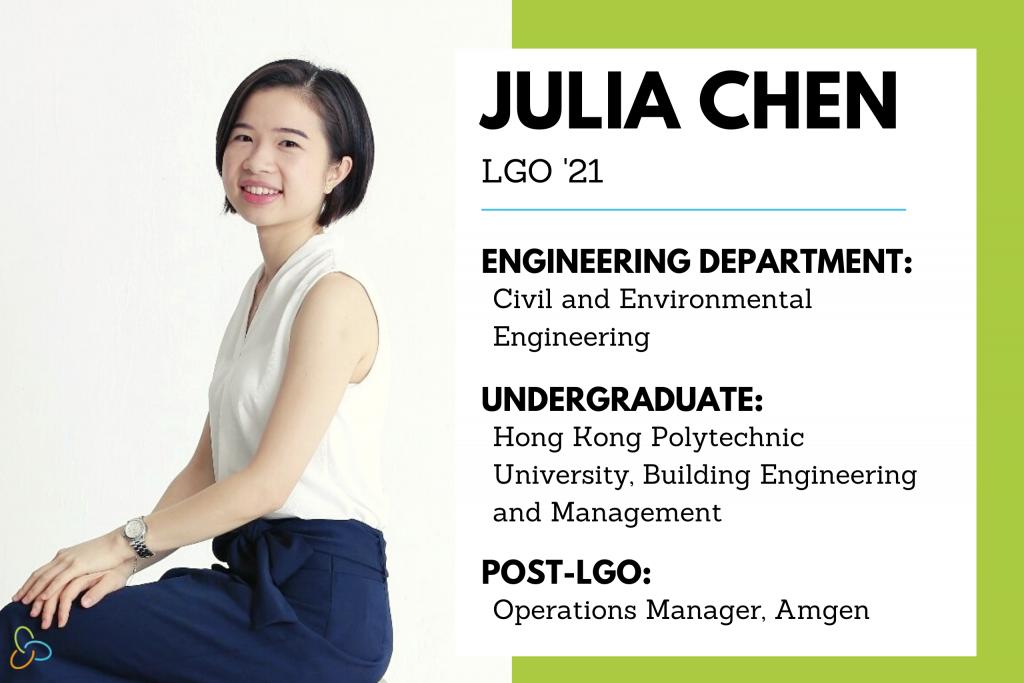 LGO 2021 Graduation Julia Chen Feature