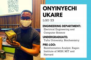 Ukay Ukaire EECS LGO 2023 New Class Features Blog sized graphic